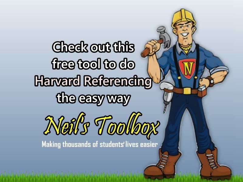 harvard reference generator tool harvard apa referencing created  harvard reference generator tool harvard apa referencing created for essays reports and dissertations neil s toolbox